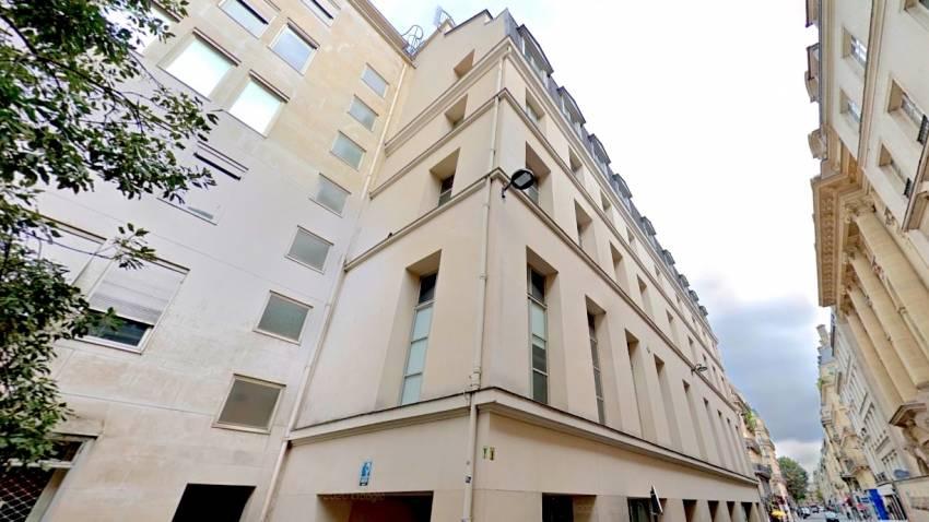 Le 73 Richelieu, dans le 2e arrondissement de Paris. © Google Maps