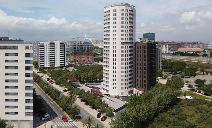 Le projet build-to-rent réalisé par Metrovacesa à Valence.
