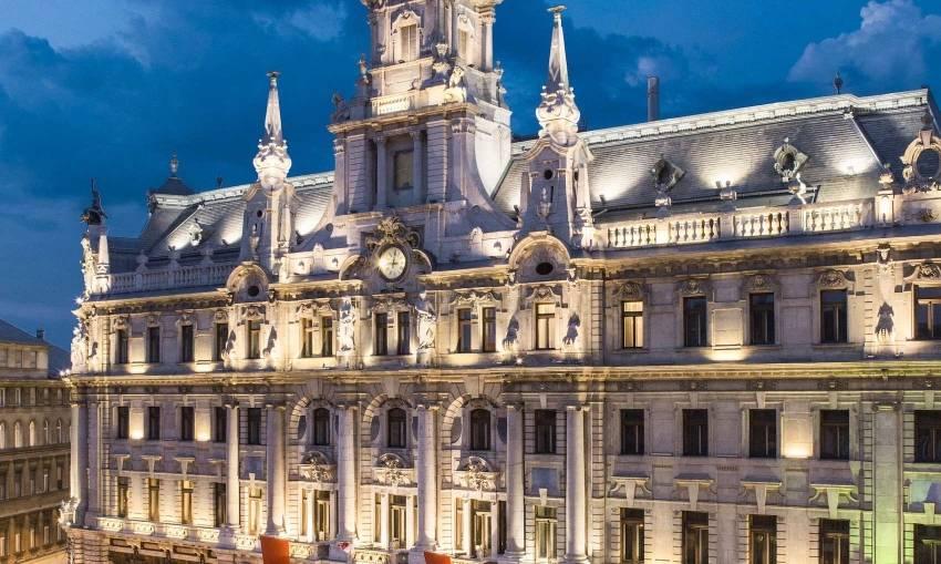 Le New York Palace à Budapest, repris par Covivio dans le cadre de l'acquisition du portefeuille Värde. © NY Palace