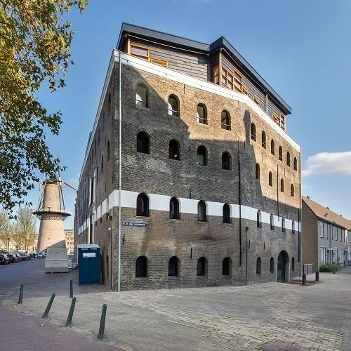 La résidence de Schiedam, à proximité de Rotterdam.