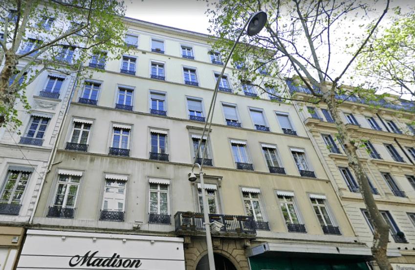 Le 58 Cours Franklin Roosevelt repris à Lyon par la Foncière Valaura. © Maps