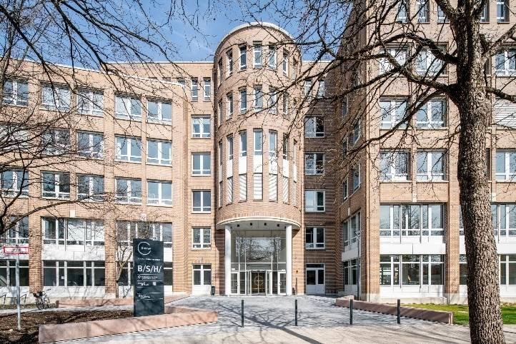 L'immeuble Gustav à Munich.