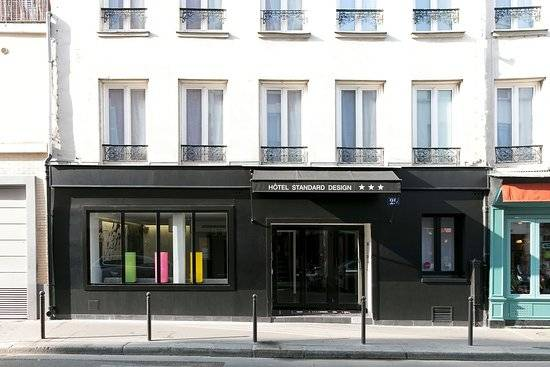 Le Standard Design, 66 rue de la Roquette, dans le 11e arrondissement de Paris.