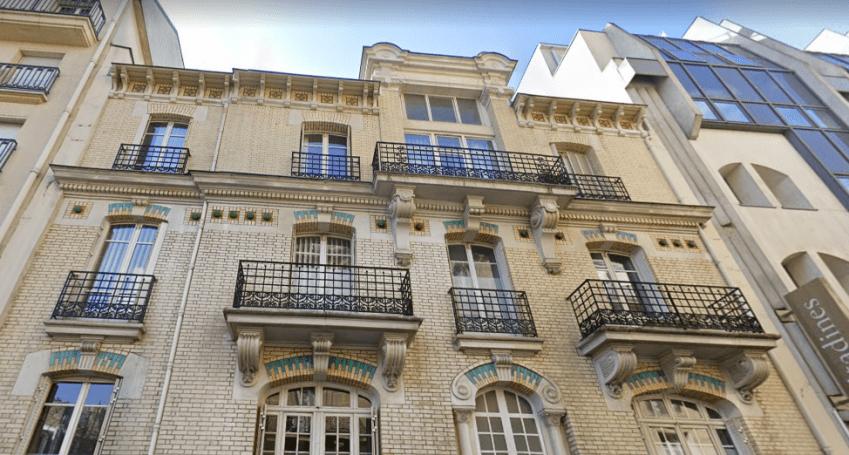 Le 29 rue Saint-Didier à Paris 16e. © Maps