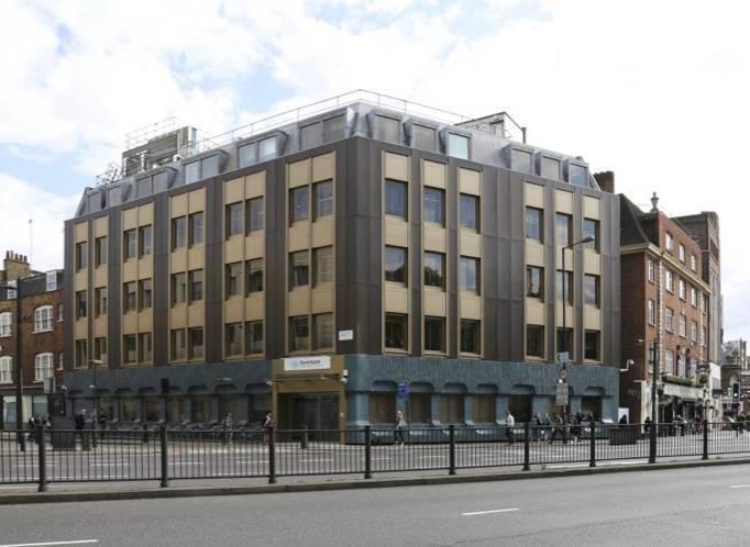 L'immeuble Grafton House, à Londres.