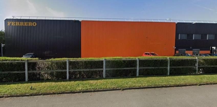 L'entrepôt de Ferrero au Grand-Quevilly.