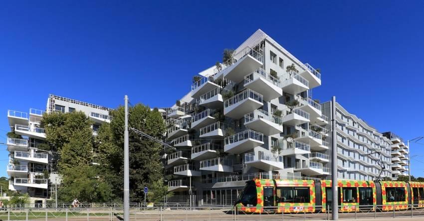 Le quartier Prado-Concorde situé à Castelnau-le-Lez dans la Métropole de Montpellier.