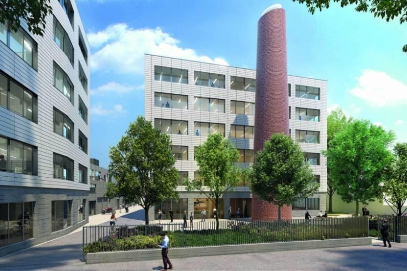 L'école EICAR Lyon est installée au sein du campus Impulse à Villeurbanne. © 6eme Sens Immobilier