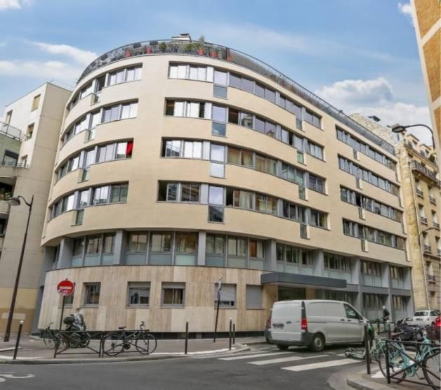 L'immeuble de la rue Jean Bloch.