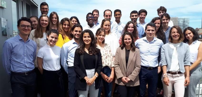 L'équipe d'Impulse Partners.