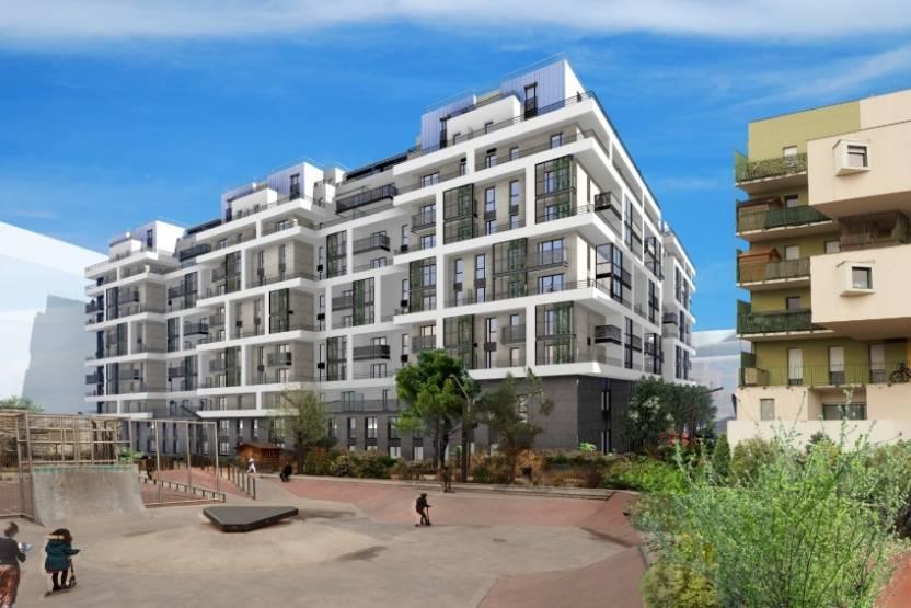 Le projet développé par Emerige, Interconstruction et Brownfields à Courbevoie.