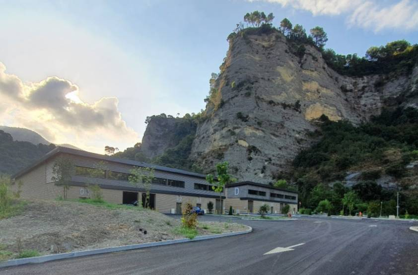 Le parc d'activités Nice Roguez, sur la métropole Nice Côte d'Azur.