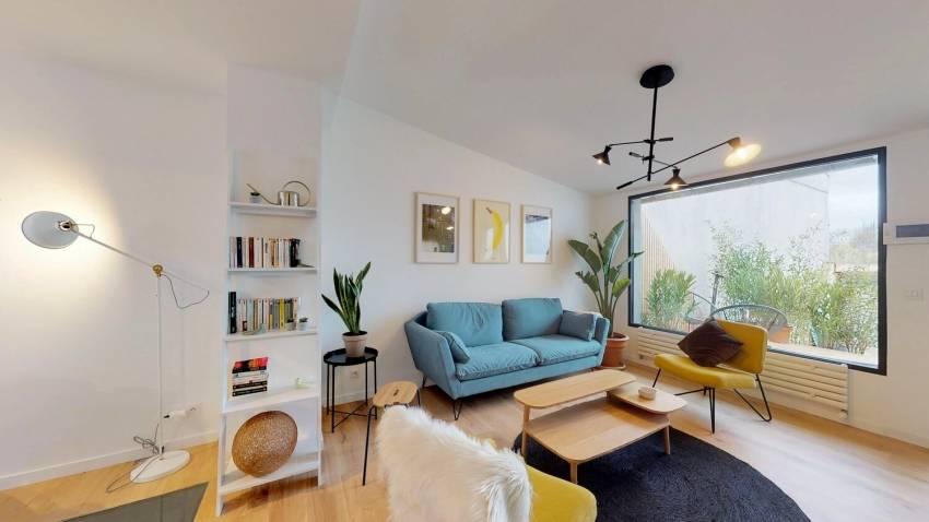 La résidence Colonies du 84 rue Hoche à Paris. © Colonies/ LABO (Living Architecture Bacin Olivier)