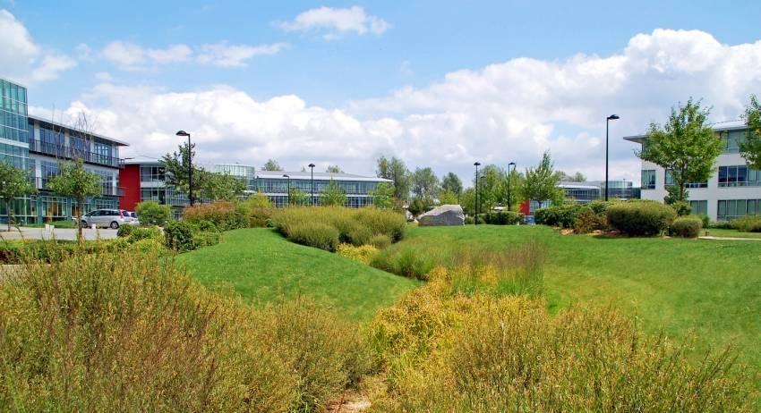 Le parc du Val Saint-Quentin, Voisins-le-Bretonneux.