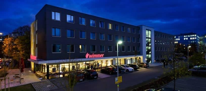 Le B&B Hotel München-Olympiapark, avant qu'il ne soit rebrandé.