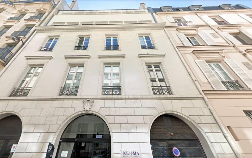 Le 9 Athènes, à Paris 2. © Google Maps