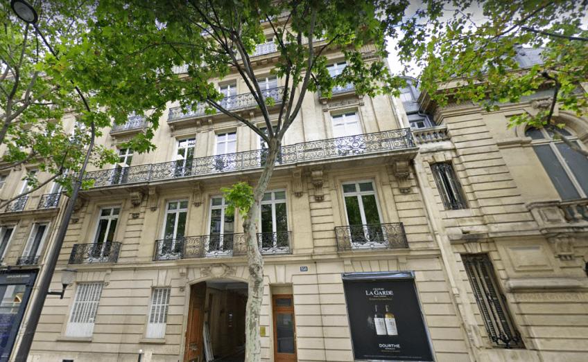 Le 160 boulevard Haussmann à Paris, où est installé Chapter One Capital. © Maps
