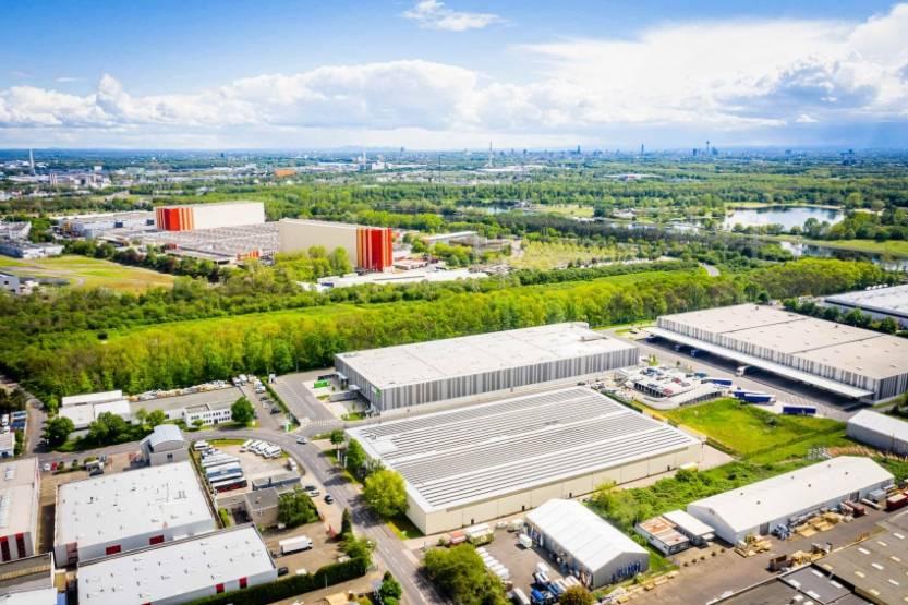 L'entrepôt acquis par Edmond de Rothschild REIM à Cologne, en Allemagne. © EdR REIM
