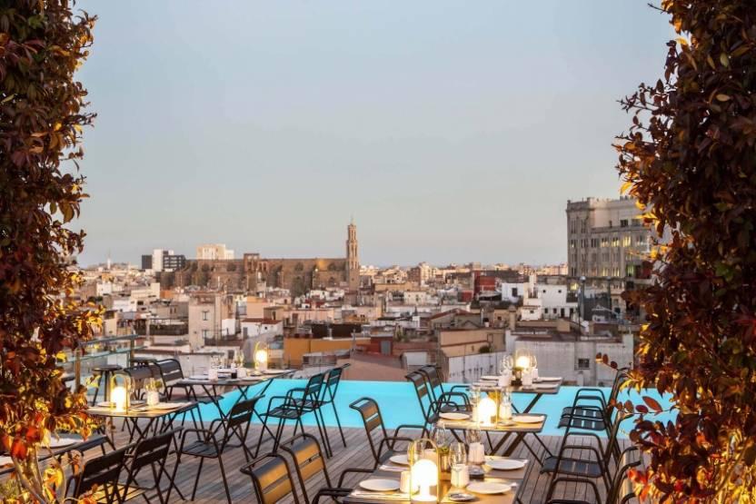 Le 5* Grand Hotel Central de Barcelone, repris par Schroders Capital. © Único Hotels