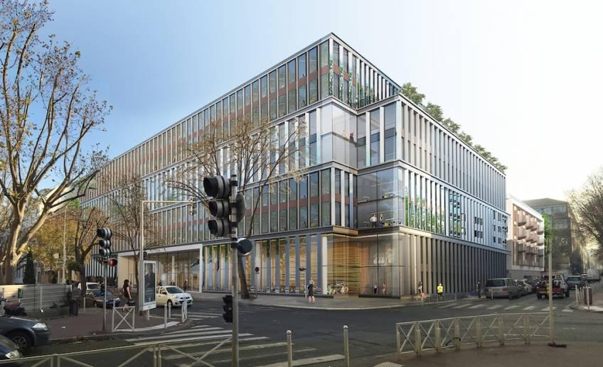 L'immeuble Académie, à Montrouge.