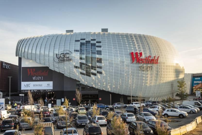 Le centre commercial Westfield Velizy 2. © URW