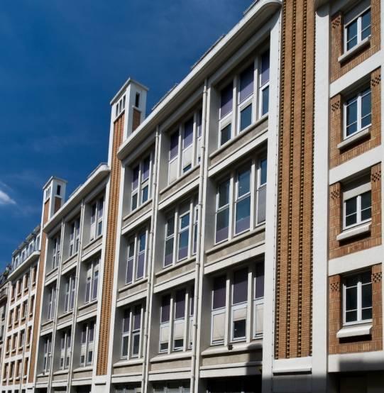 L'immeuble de la rue Médéric, à Paris.
