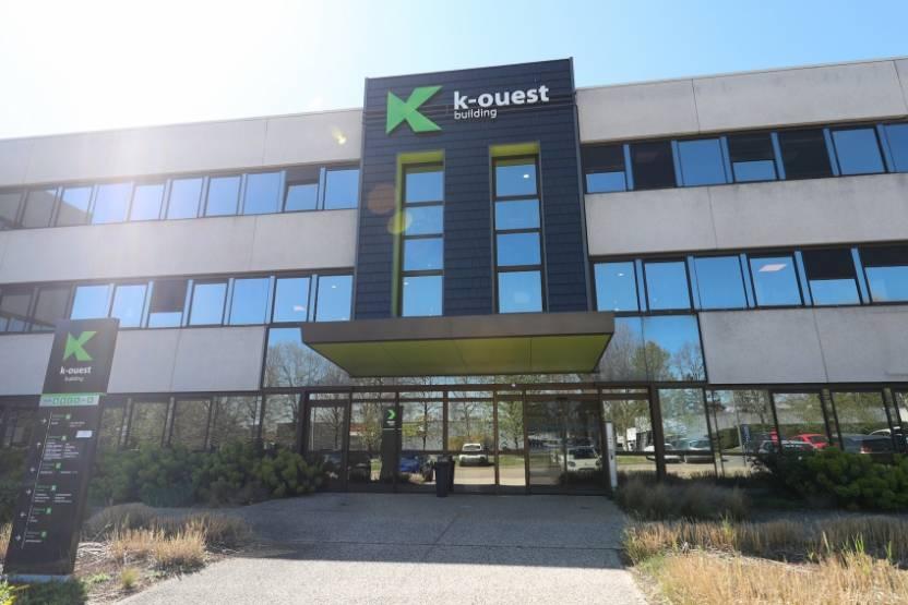 L'immeuble K-Ouest, à Limonest près de Lyon.