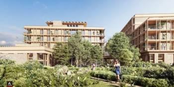 Le projet de 50 logements sur l'écoquartier de la ZAC Flaubert à Grenoble