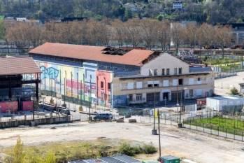La Halle Caoutchouc, à Lyon Confluence.