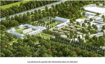Le futur campus dédié aux arts