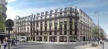 Le 11 Beaurepaire, Paris 10. © Braxton AM