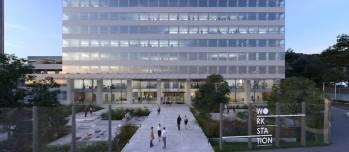 L'immeuble WorkStation à La Défense