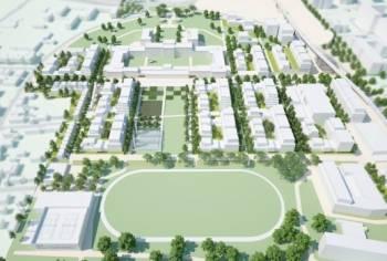 Le futur quartier Guillaumet à Toulouse.