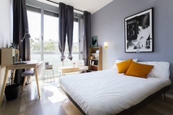L'une des chambres opérées par DoveVivo en Italie. © DoveVivo