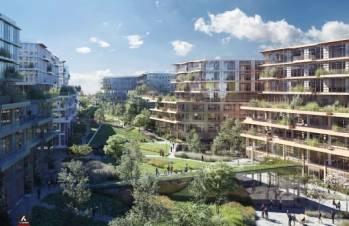 Le futur siège mondial d'Engie à La Garenne-Colombes.