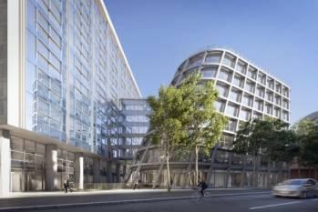 L'immeuble Biome, dans le 15e arrondissement de Paris.