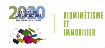 L'édition 2020-2021 du Prix des Espoirs de l'Architecture. © BNP Paribas Real Estate
