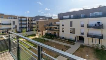 Les terrasses d'Ambroise à La Ville-du-Bois (91), un programme porté par CDC Habitat.